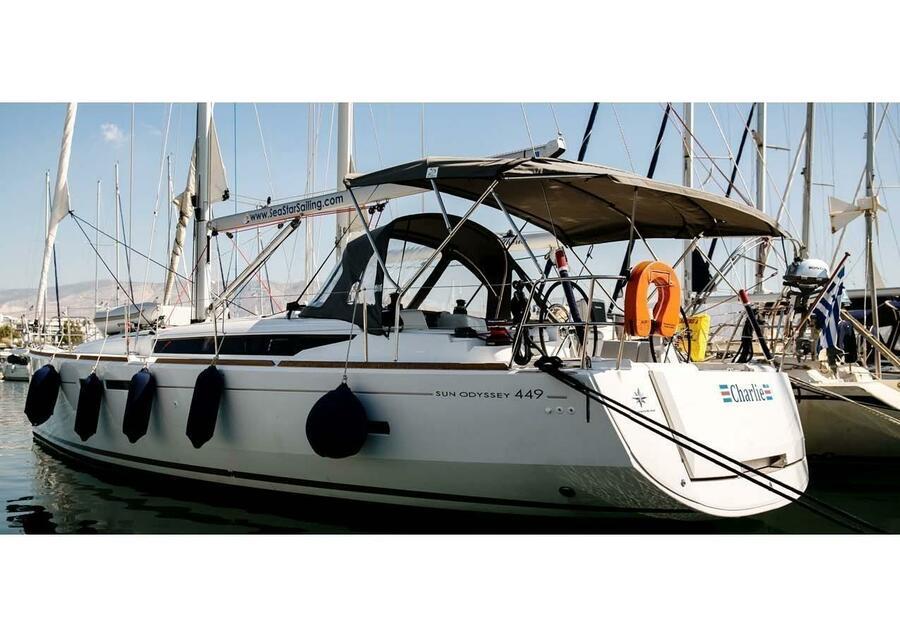 Sun Odyssey 449 (Charlie)  - 3
