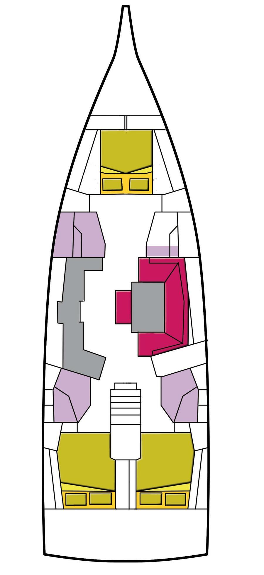 Oceanis 46.1 (3 cab) (Altarf)  - 2