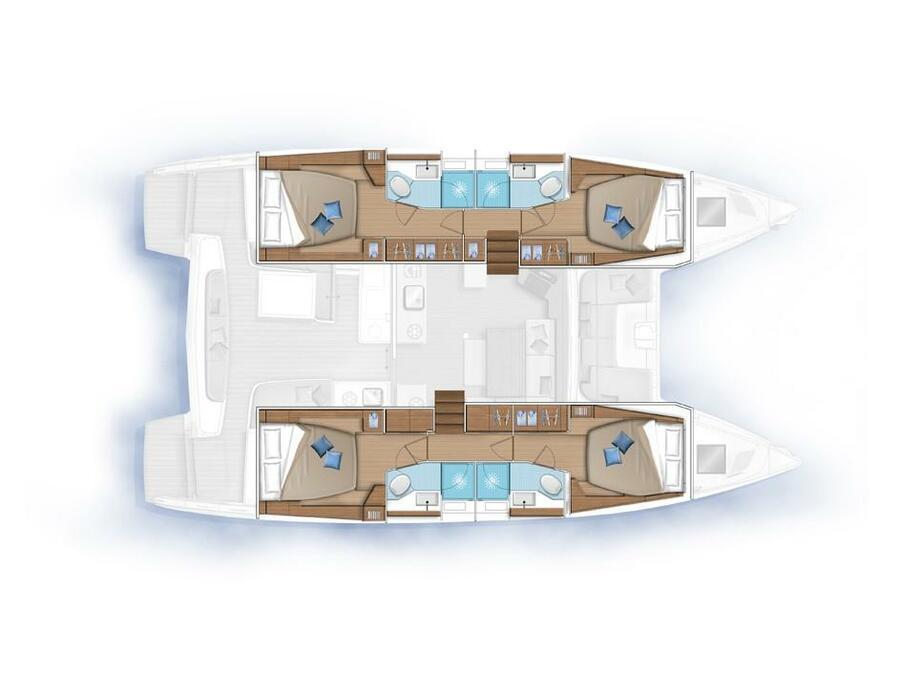 Lagoon 46 (NEW (NO NAME)) Plan image - 6