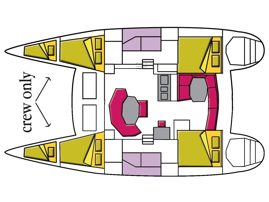Lagoon 380 (Naos (Watermaker,Inverter)) Plan image - 8