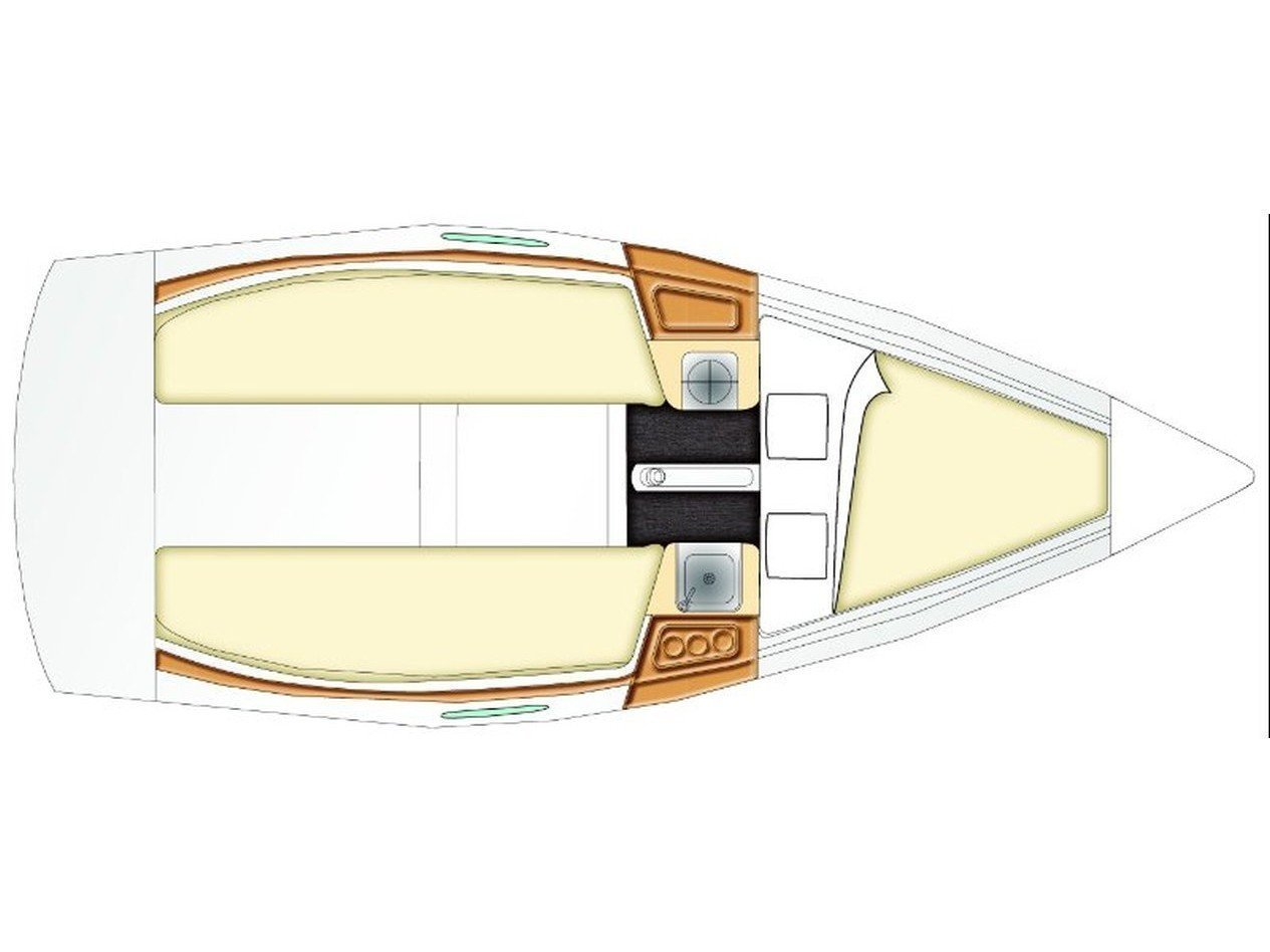 Beneteau First 21.7 (Perla) Plan image - 1