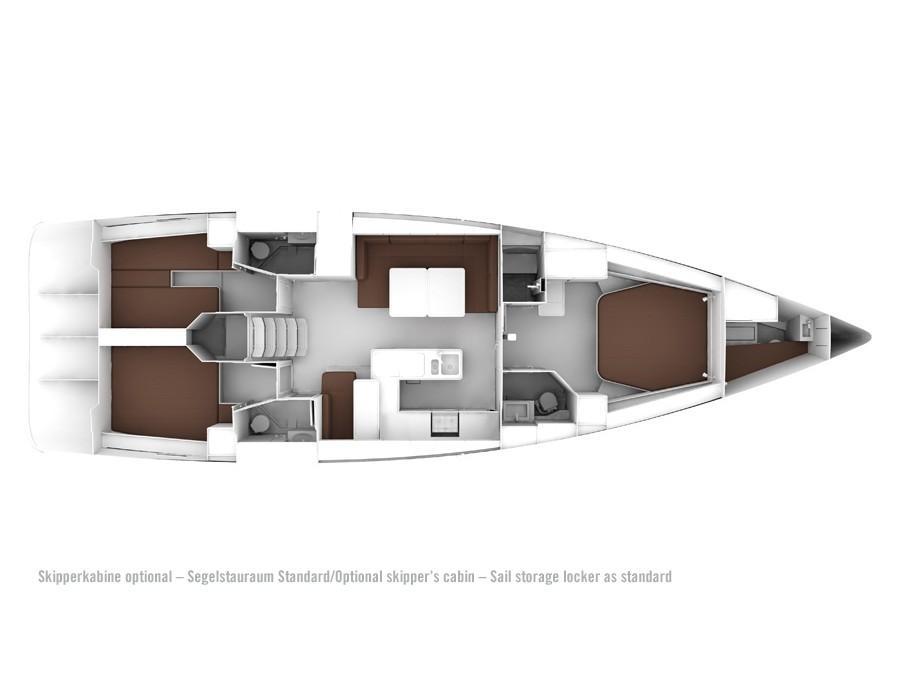 Bavaria 56 (Searex) Plan image - 1