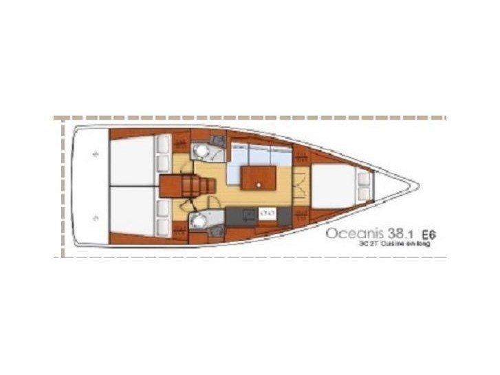 Oceanis 38.1 (Elisa) Plan image - 8