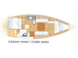Bavaria 36 (THETIS) Plan image - 2