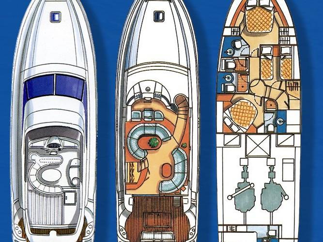 Azimut 58 (Poseidon) Plan image - 7