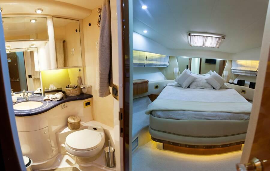 Azimut 58 (Poseidon) Master cabin - 11