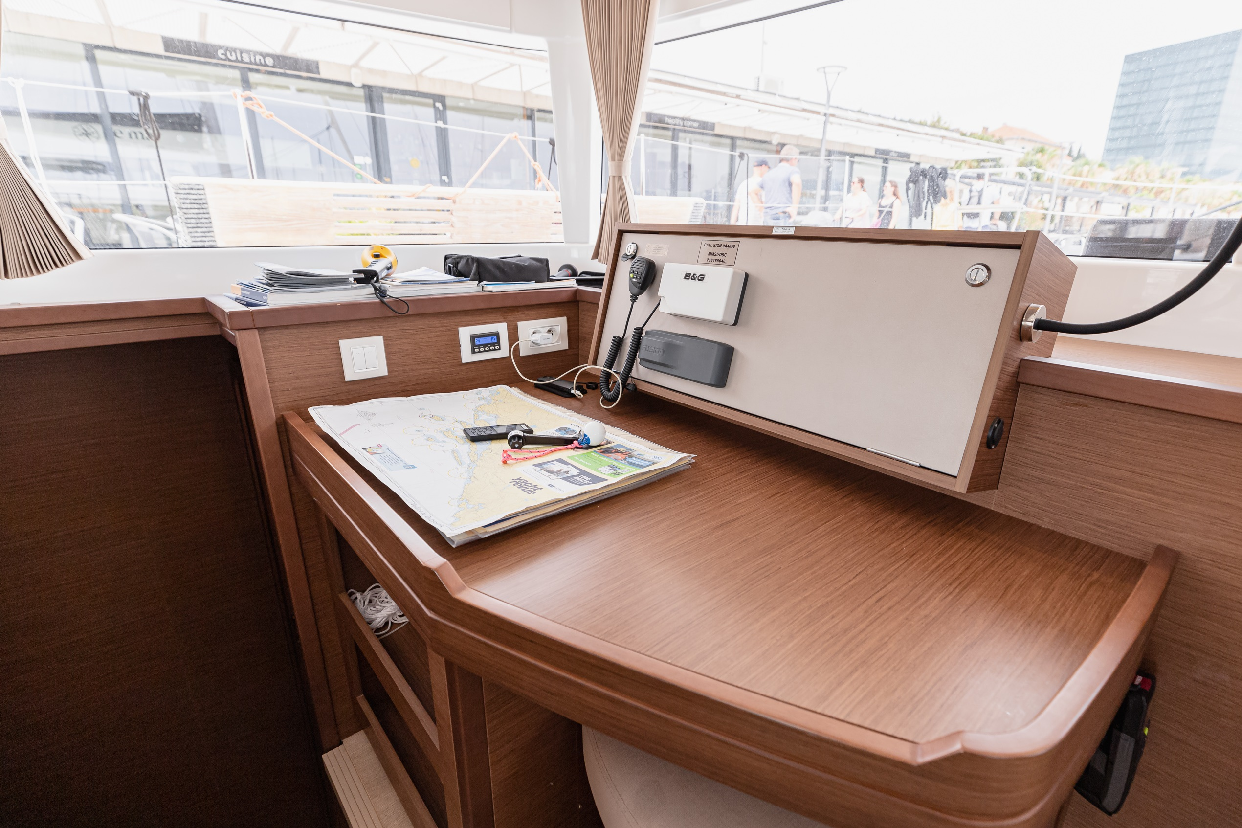Lagoon 450 Sport (2018) equipped with generator, A (MOBY DICK)  - 10
