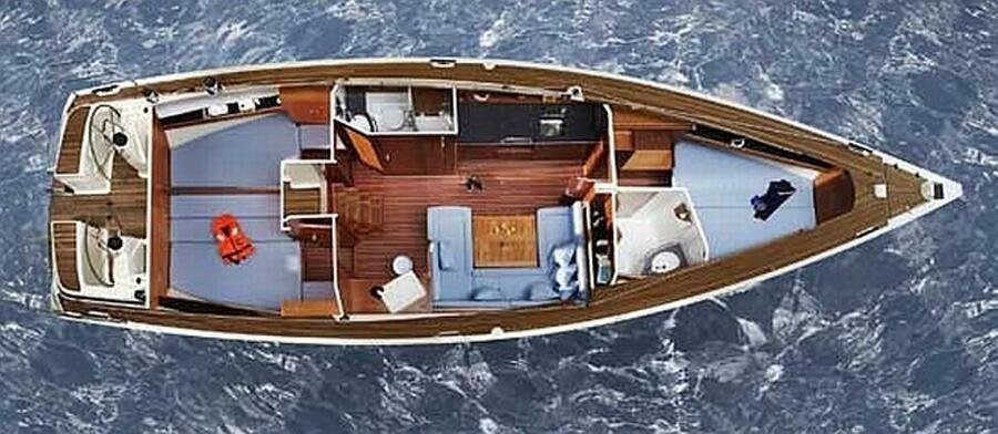 Bavaria 43 Cruiser (Bohemia II -  Bavaria 43 Cruiser)  - 13