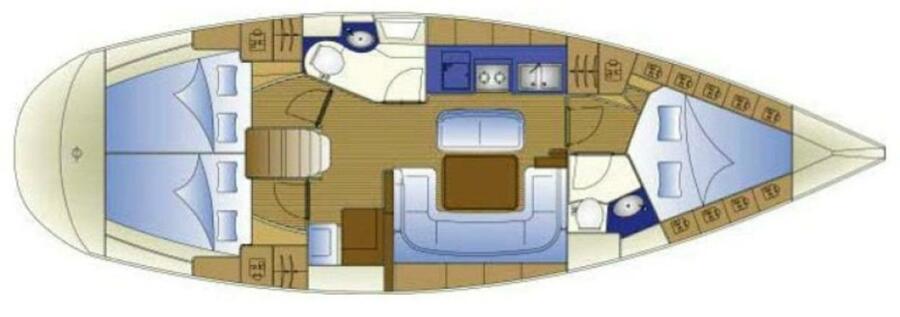 Bavaria 40 (Juliana - Bavaria 40 Cruiser)  - 8
