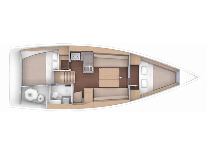 Dufour 360 Grand Large (Layla) Plan image - 14