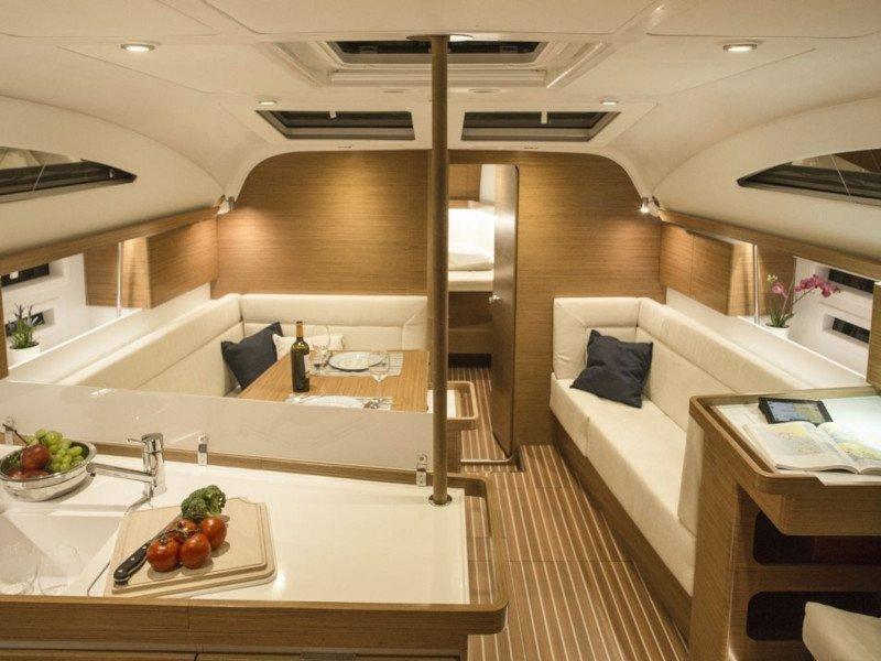 Elan 45 Impression - 3 cabin version (DaVinci) Interior image - 4