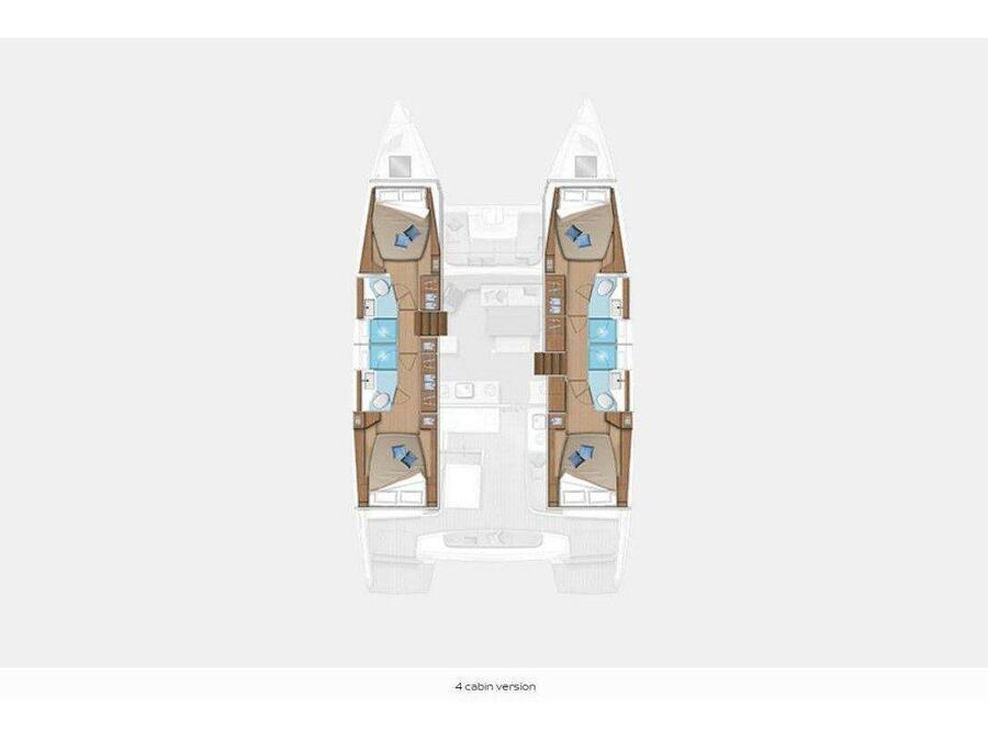 Lagoon 46  (PEGASUS) Plan image - 3
