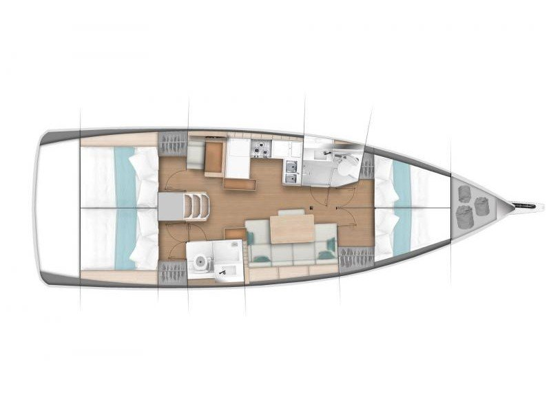 Sun Odyssey 440 (NEW SO 440_NAFPLION) Plan image - 12