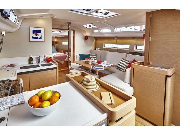 Sun Odyssey 440 (NEW SO 440_NAFPLION) Interior image - 6
