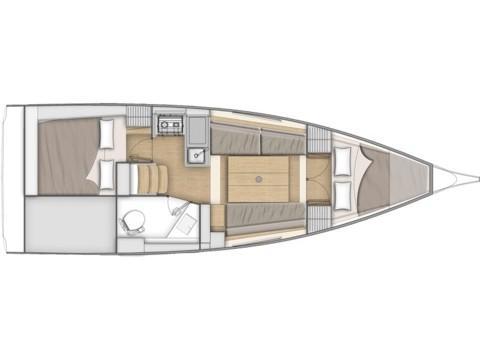 Oceanis 30.1 (Quicksailito) Plan image - 1