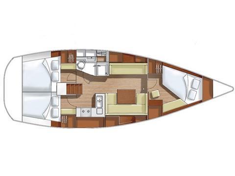 Hanse 400 (HEIDI) Plan image - 2