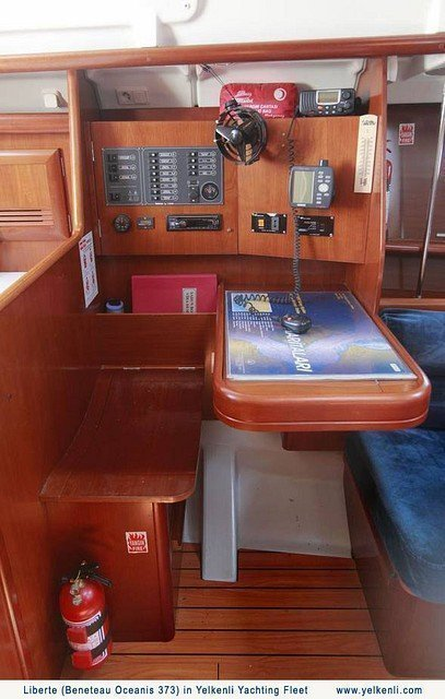 Oceanis 373 (Liberte) Chart Table - 9