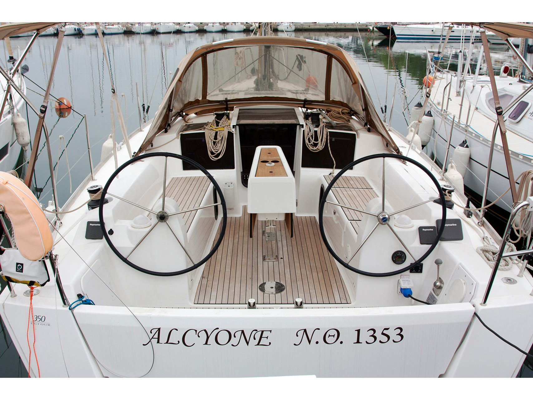 Dufour 350 Grand Large (Alcyone) Main image - 0