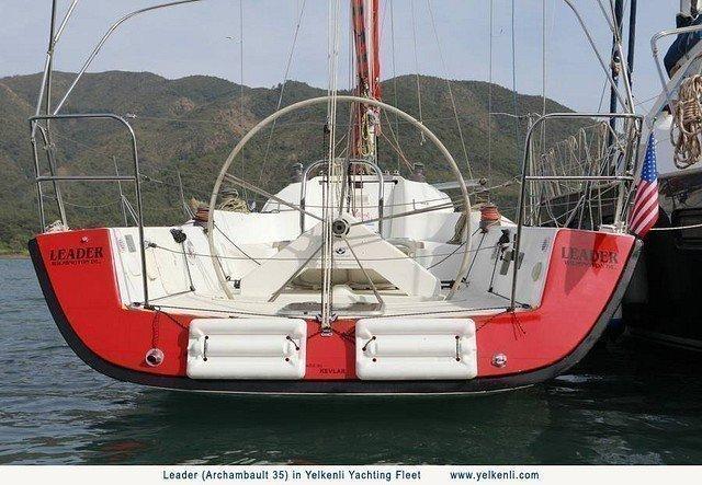 Archambault 35 (Leader) Transom - 13