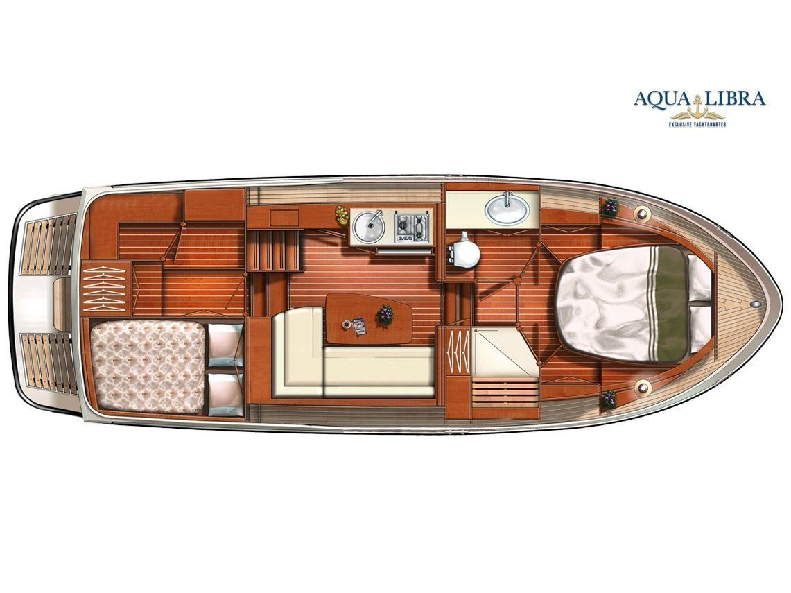 Linssen GS 30.9 AC (Luna Louise) Plan image - 1