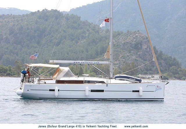 Dufour 410 GL (Jones) Sailing - 2