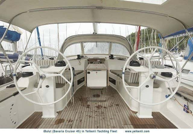 Bavaria 45 Cruiser (iBulut) Cockpit - 6