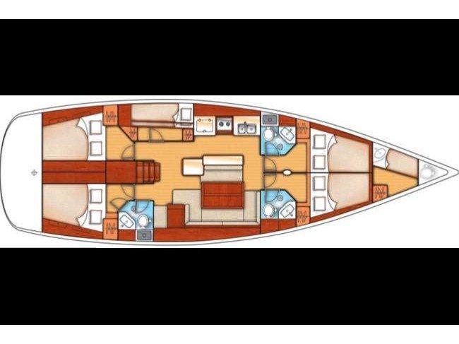 Oceanis 50 (SUENO) Plan image - 8