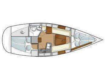 Hanse 315 (Libera) Plan image - 2