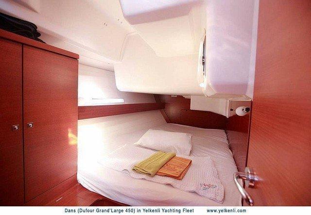 Dufour 450 GL (Dans) Starboard Aft Cabin - 7
