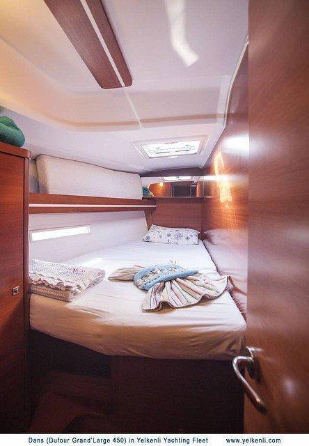 Dufour 450 GL (Dans) Port Front Cabin - 30