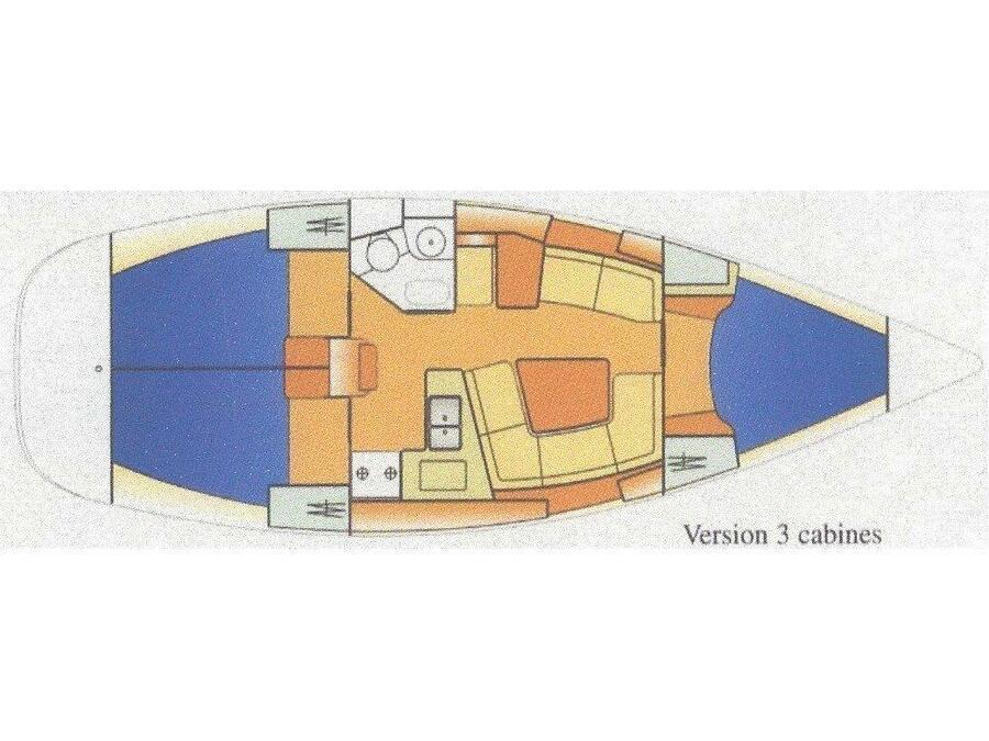 Sun Odyssey 37 (1) (Jambo) Plan image - 8