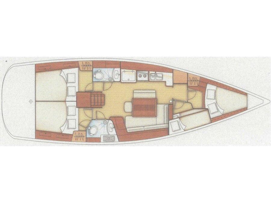 Oceanis 43 (Bliss) Plan image - 3