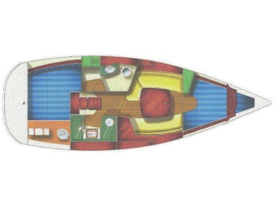 Sun Odyssey 32 (Beluga) Plan image - 1