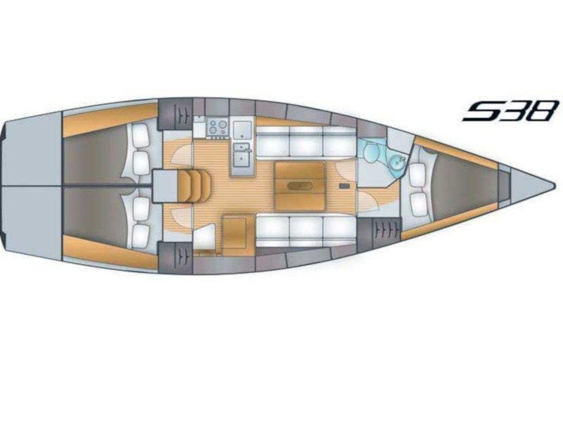 Salona 38 (KaninVin) Plan image - 5