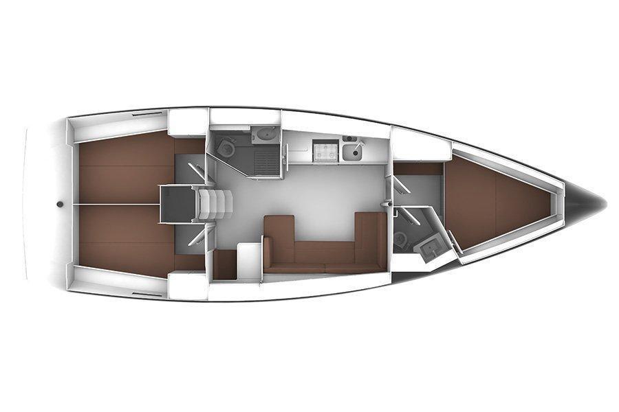Bavaria Cruiser41 (Optima) Interior image - 11