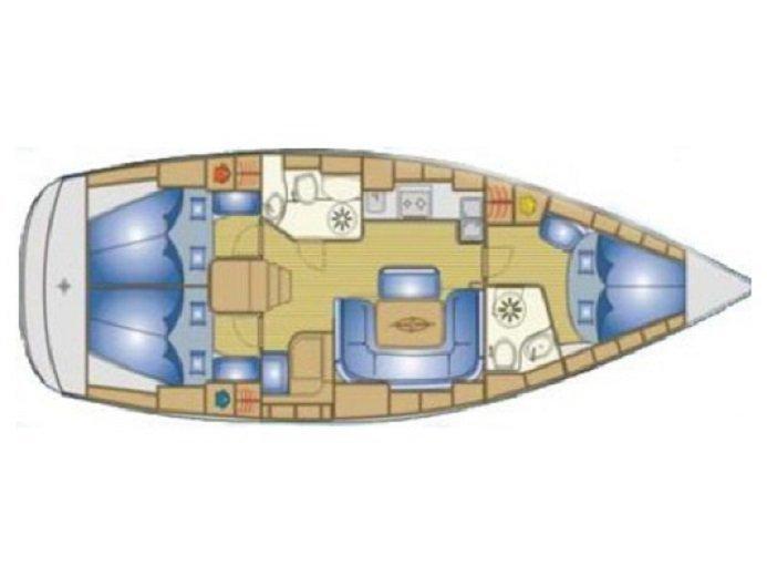 Bavaria 39 Cruiser (Axion) Plan image - 2