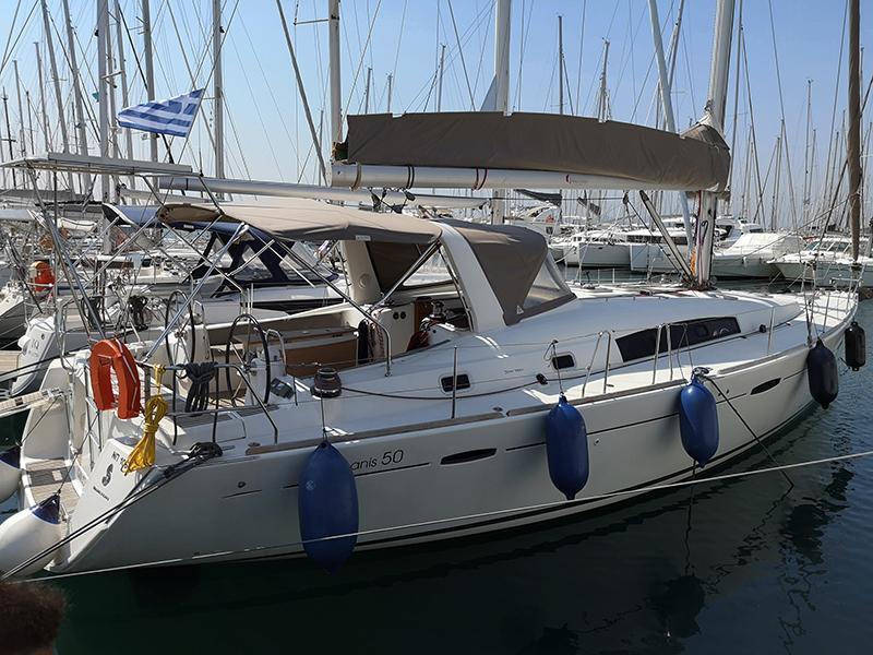 Oceanis 50 (Gilda (A/C - Generator - 12 pax))  - 1