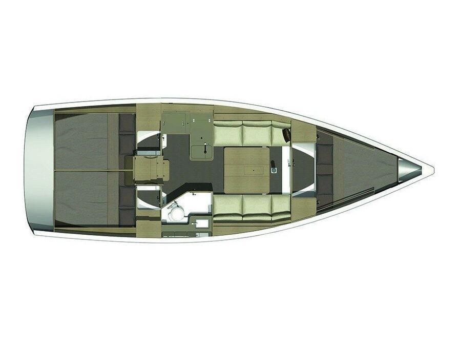 Dufour 360 GL (Minion) Plan image - 6