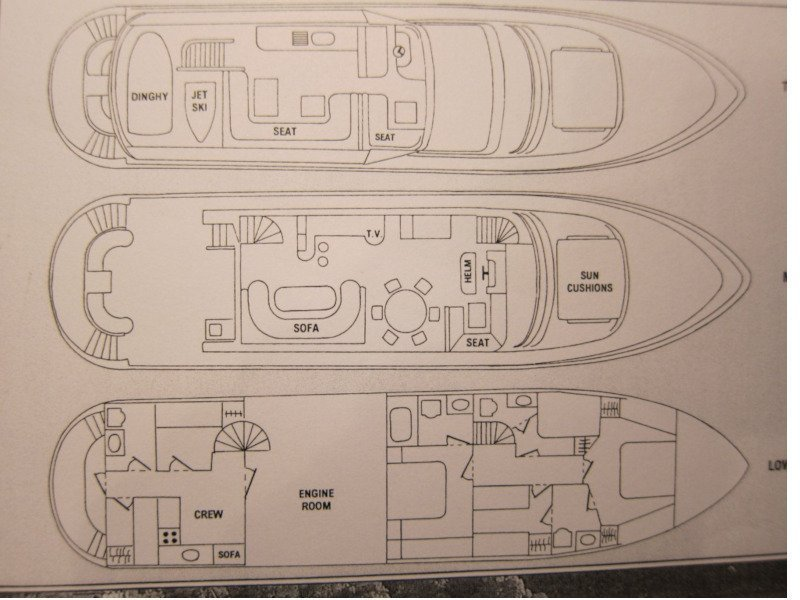 Vitech 72 (Sea Dream) Plan image - 6