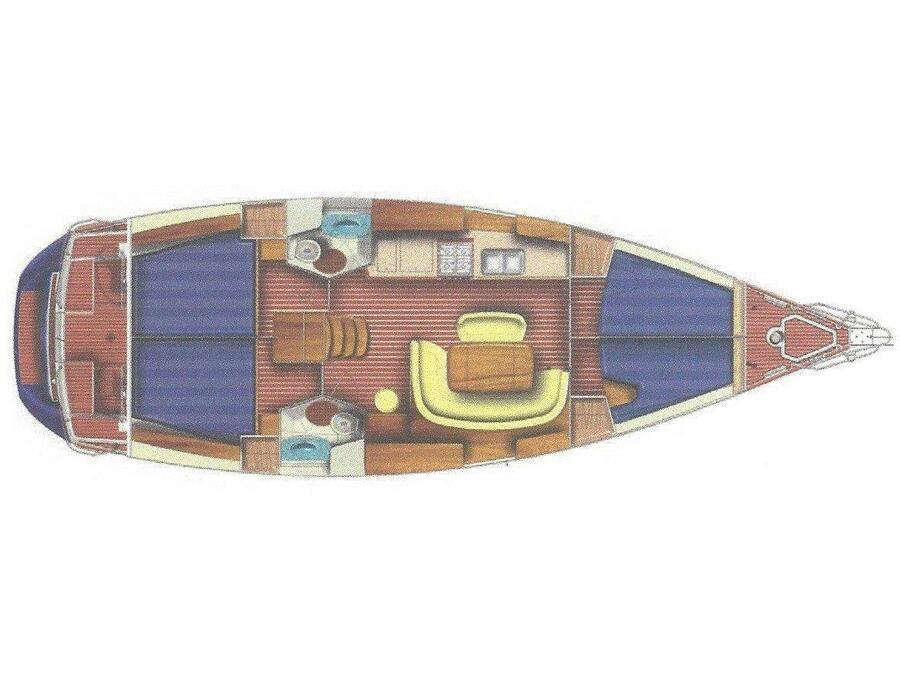 Sun Odyssey 45 (Safina) Plan image - 7