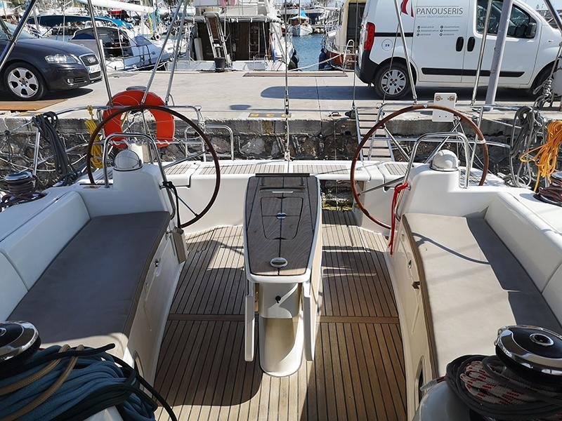 Oceanis 50 (Ornella (A/C - Generator - 12 pax))  - 16