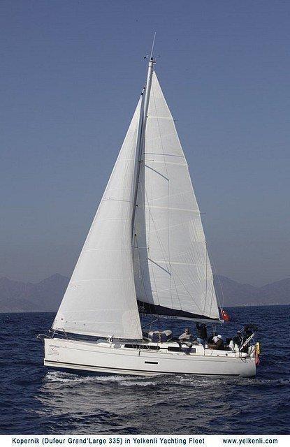 Dufour 335 GL (Kopernik) Sailing - 9