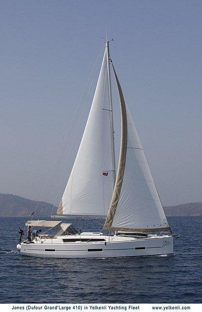 Dufour 410 GL (Jones) Sailing - 16