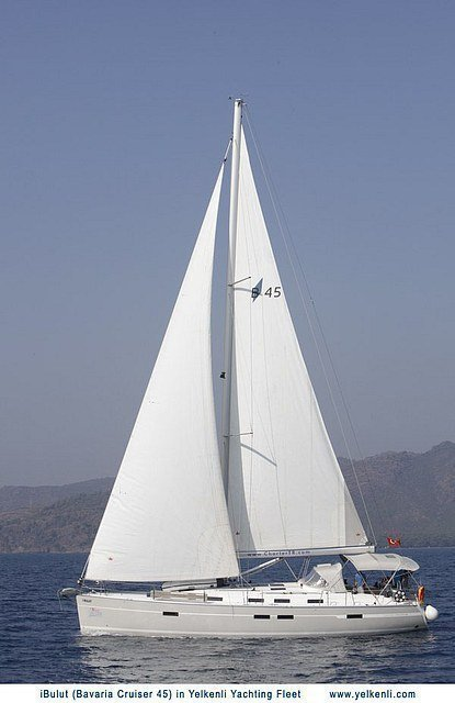 Bavaria 45 Cruiser (iBulut) Sailing - 33