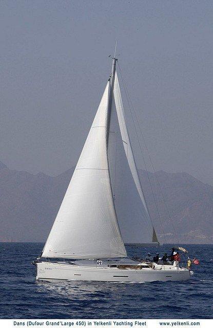 Dufour 450 GL (Dans) Sailing - 13