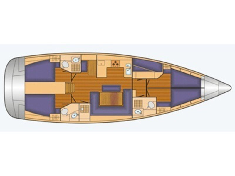 Bavaria 50 Cruiser (Ouranos) Plan image - 7