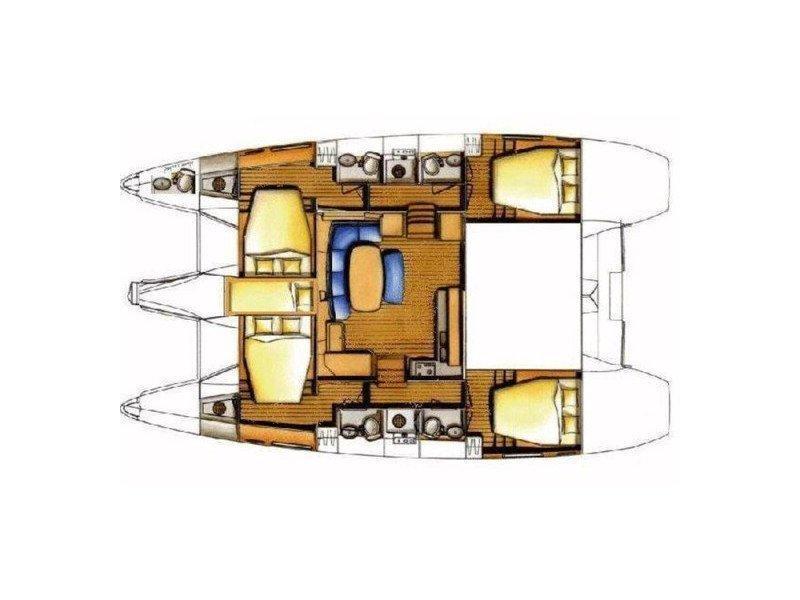 Lagoon 421 (Estrella) Plan image - 3