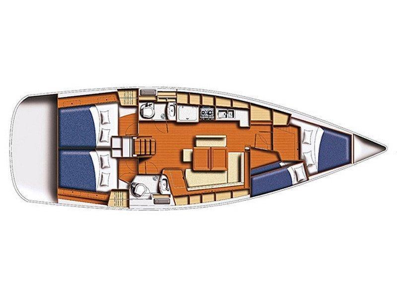 Oceanis 43 (Zen) Plan image - 1