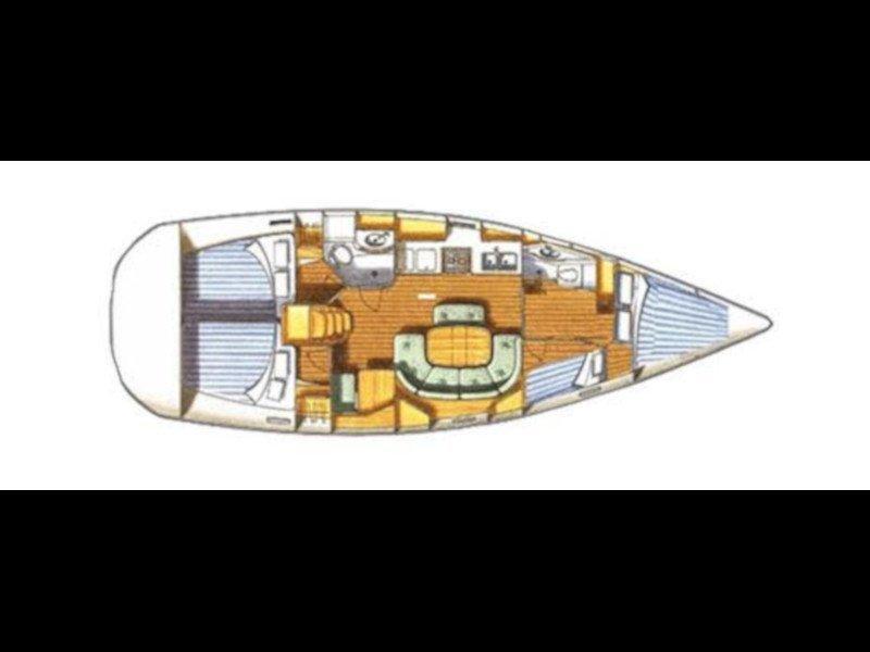 Oceanis 411 Clipper (Nemesis) Plan image - 2