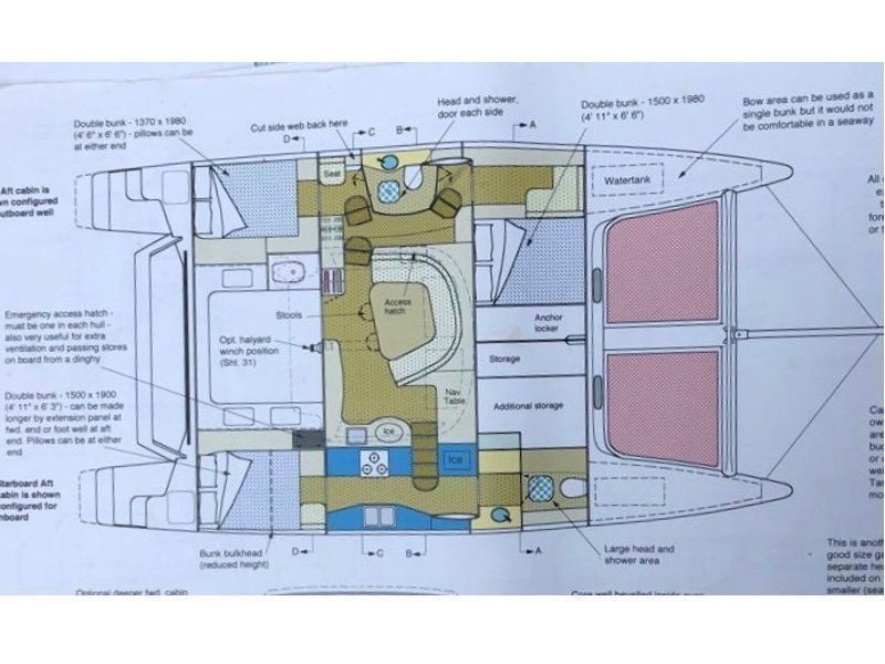 Farrier 44 (Santa Maria IX-FARRIER 44SC) Plan image - 3